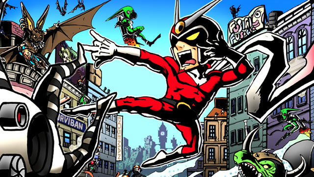 Viewtiful Joe Art