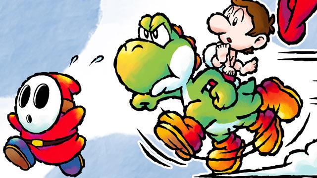 Yoshi's Island DS Art