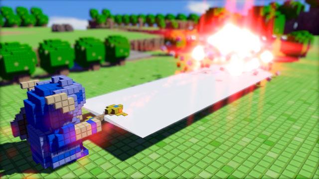 3D Dot Game Heroes Screen
