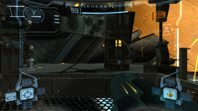 Metroid Prime Screen